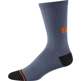 "Fox 8"" Trail Socks Men blue steel"